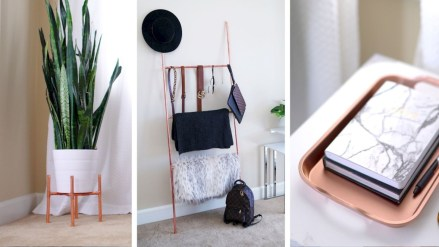 Stunning ideas to use copper pipes for your home decor 14