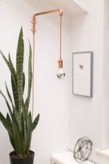 Stunning ideas to use copper pipes for your home decor 15