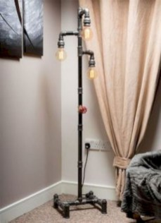 Stunning ideas to use copper pipes for your home decor 48
