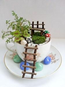 Super easy diy fairy garden ideas 05