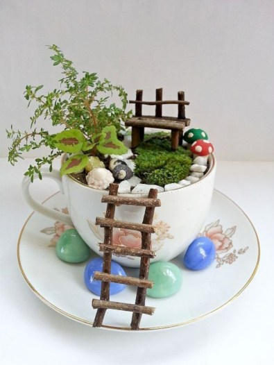 Super easy diy fairy garden ideas 05