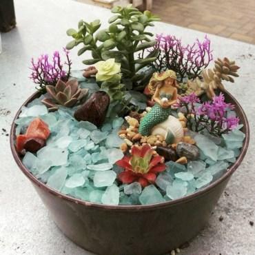 Super easy diy fairy garden ideas 24