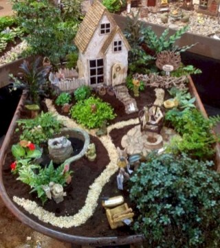 Super easy diy fairy garden ideas 25