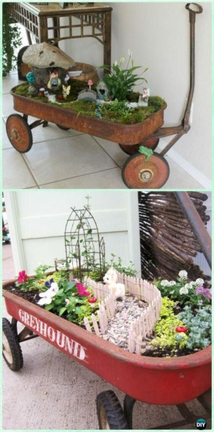 Super easy diy fairy garden ideas 37