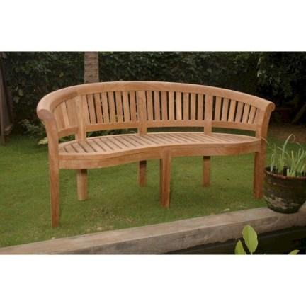Teak garden benches ideas for your outdoor 02