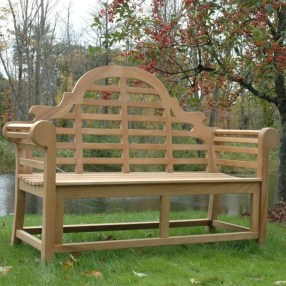 Teak garden benches ideas for your outdoor 08