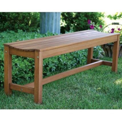 Teak garden benches ideas for your outdoor 13