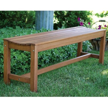 Teak garden benches ideas for your outdoor 13