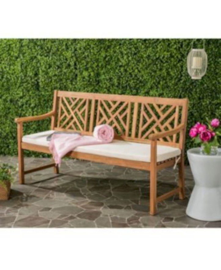 Teak garden benches ideas for your outdoor 14