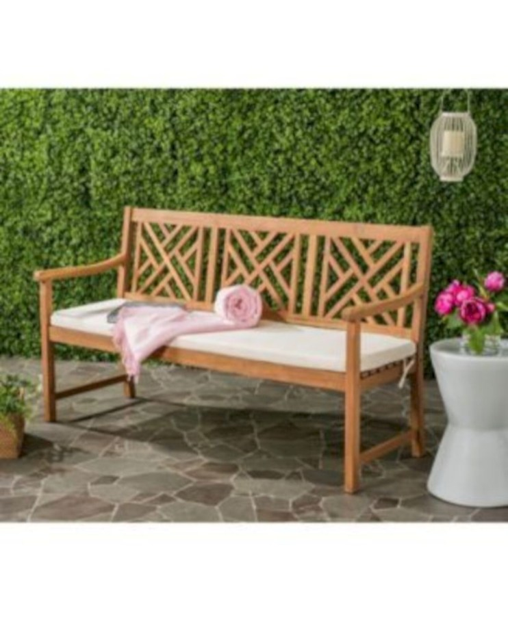 Teak garden benches ideas for your outdoor 14