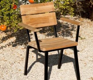 Teak garden benches ideas for your outdoor 23