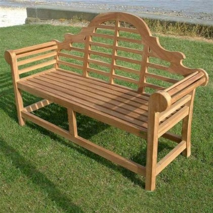 Teak garden benches ideas for your outdoor 29