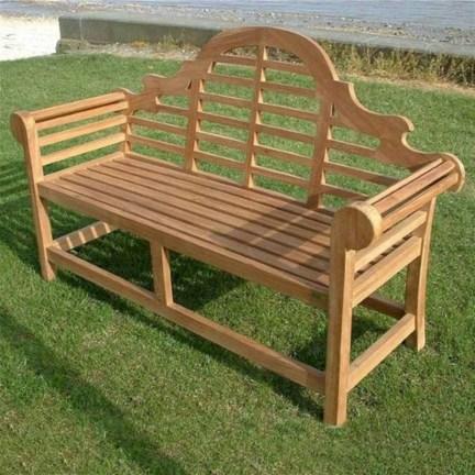 Teak garden benches ideas for your outdoor 29