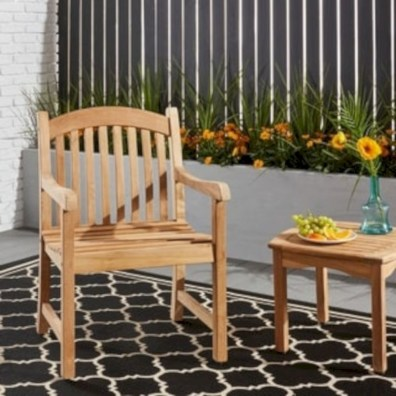 Teak garden benches ideas for your outdoor 32