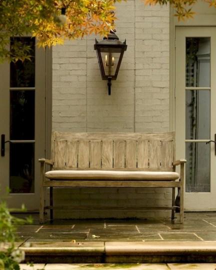 Teak garden benches ideas for your outdoor 39