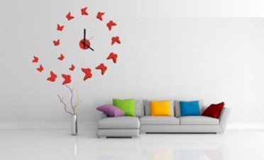 Unusual modern wall clock design ideas 04