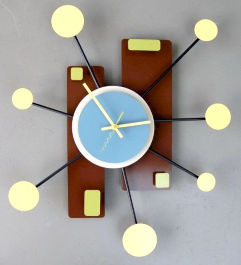 Unusual modern wall clock design ideas 13