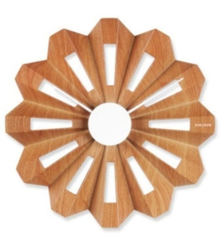 Unusual modern wall clock design ideas 17