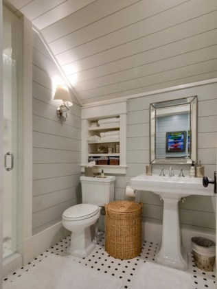 Ways to add charm to your space with shiplap 43