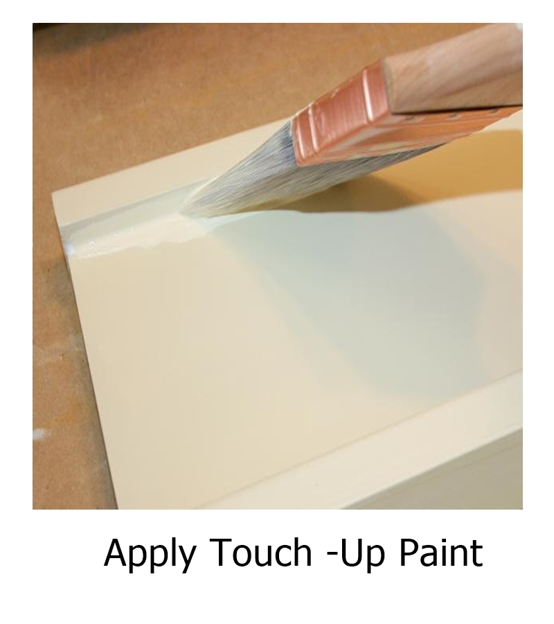 Apply Touch -Up Paint