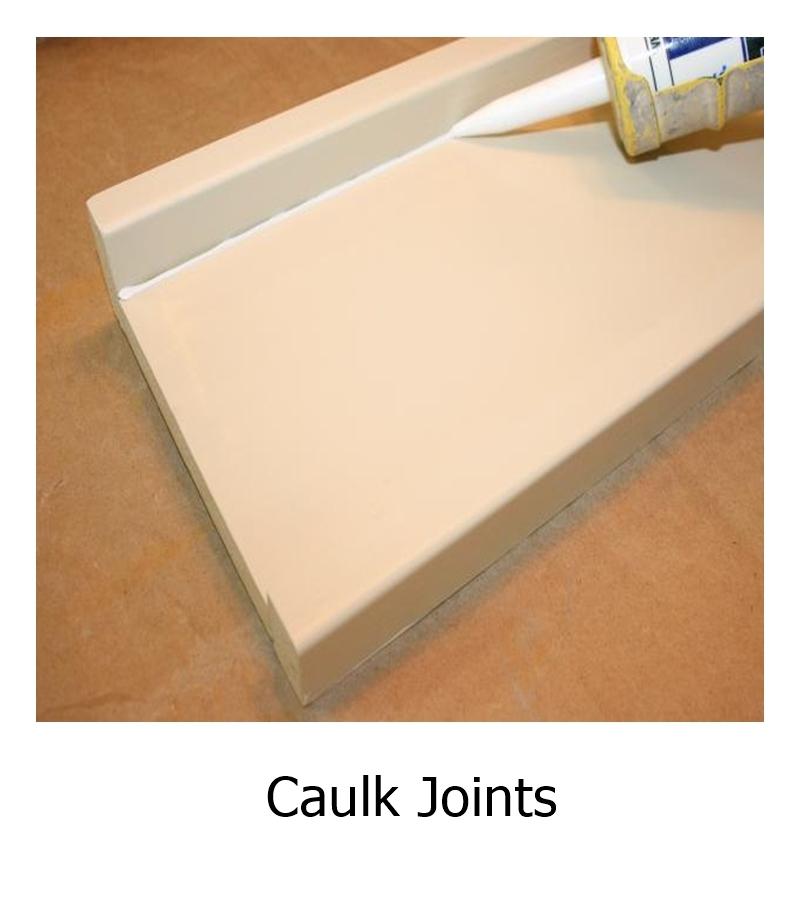 Caulk Joints