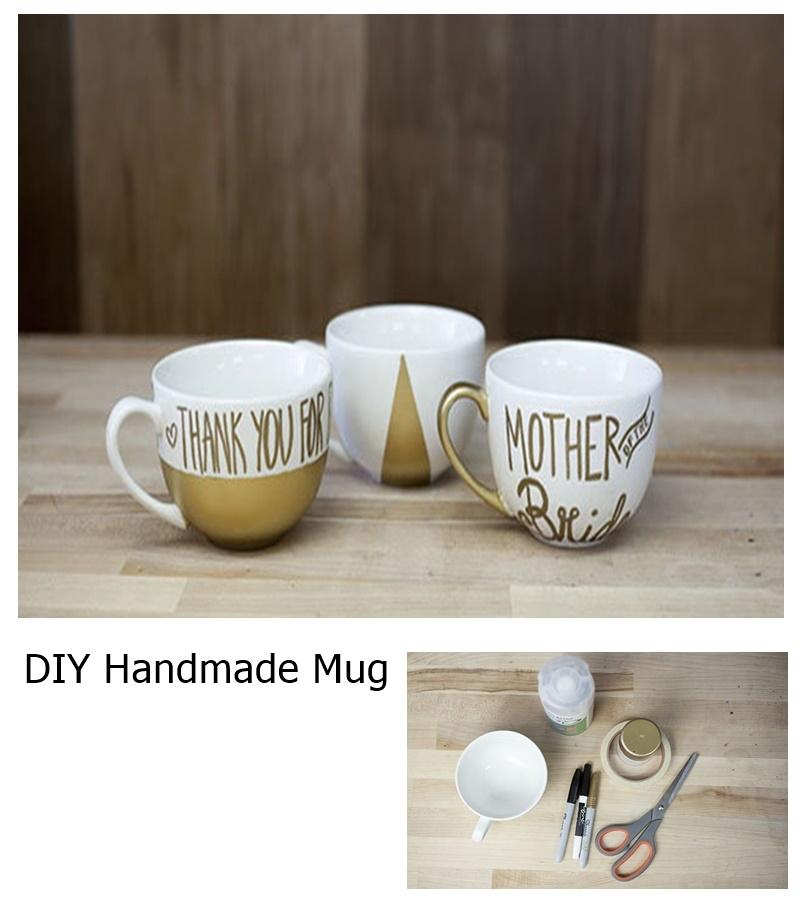 Diy handmade mug