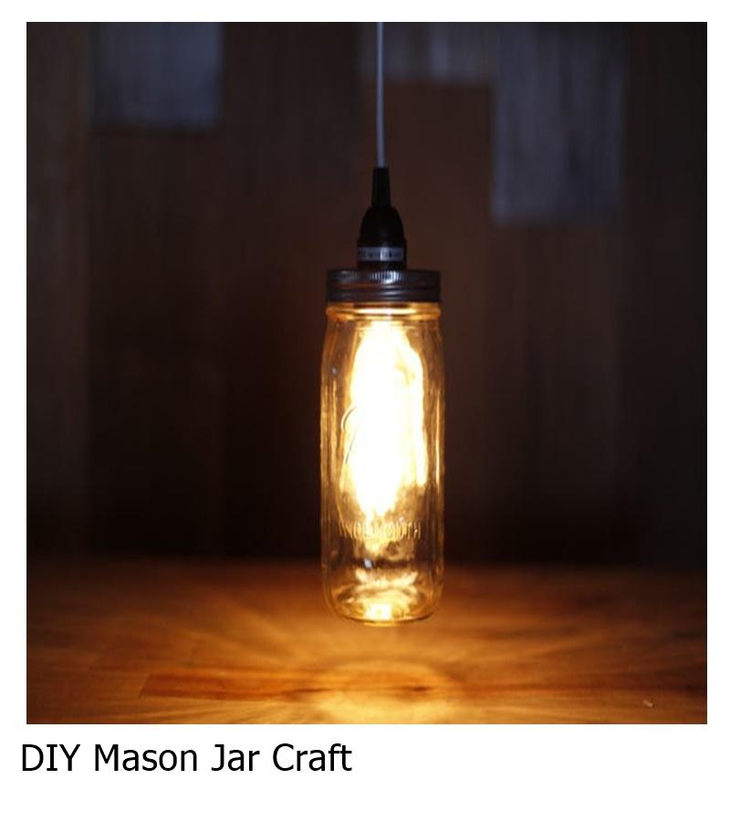 Diy mason jar craft