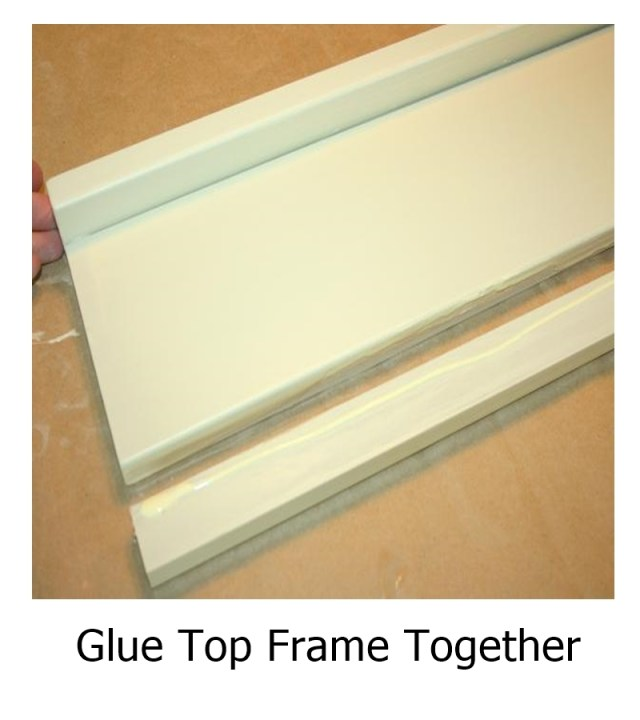 Glue Top Frame Together