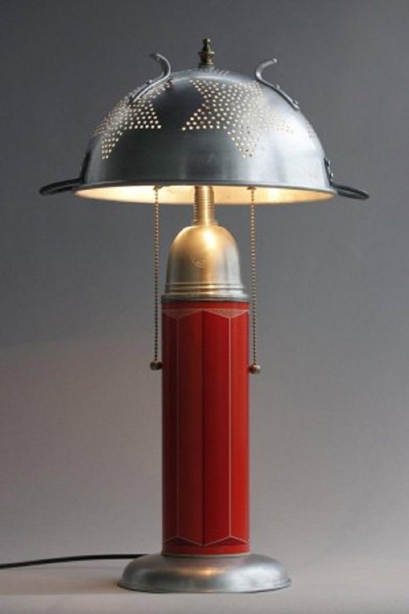 Colander-lamp