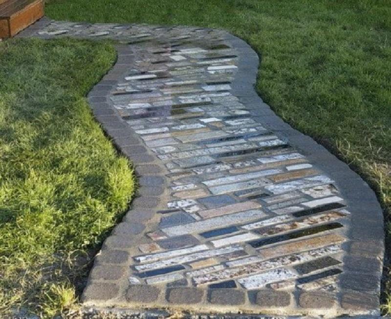 Granite pathway