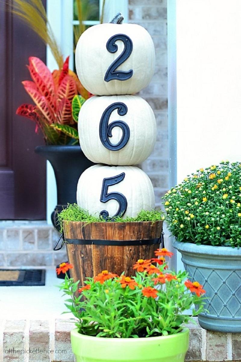 Diy house number 9