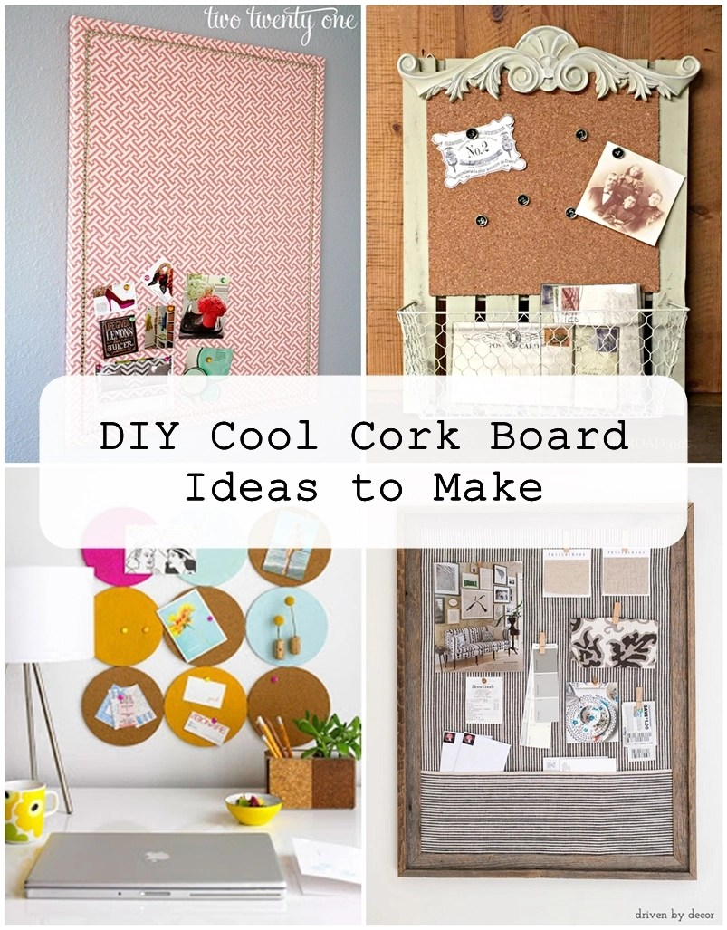 Ideas For Decorating Cork Boards
