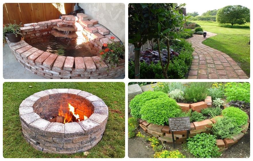 9 Dazzling Diy Garden Decor Ideas With Old Bricks