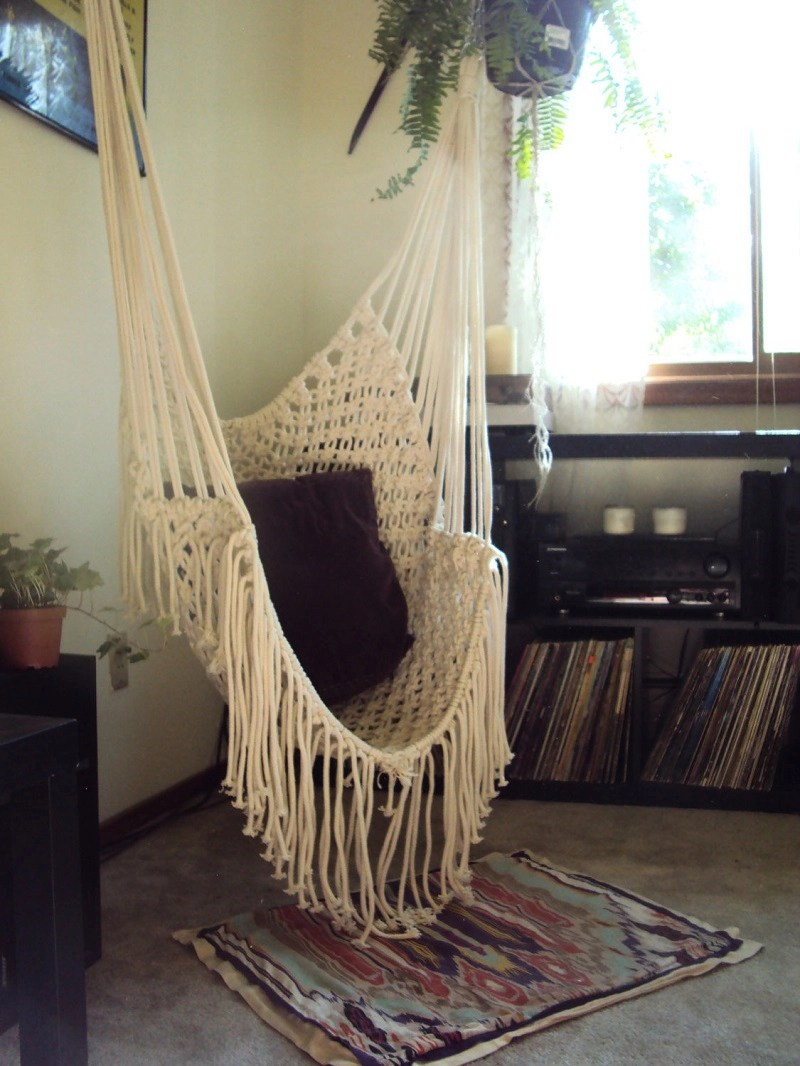 Simple Macrame Chair