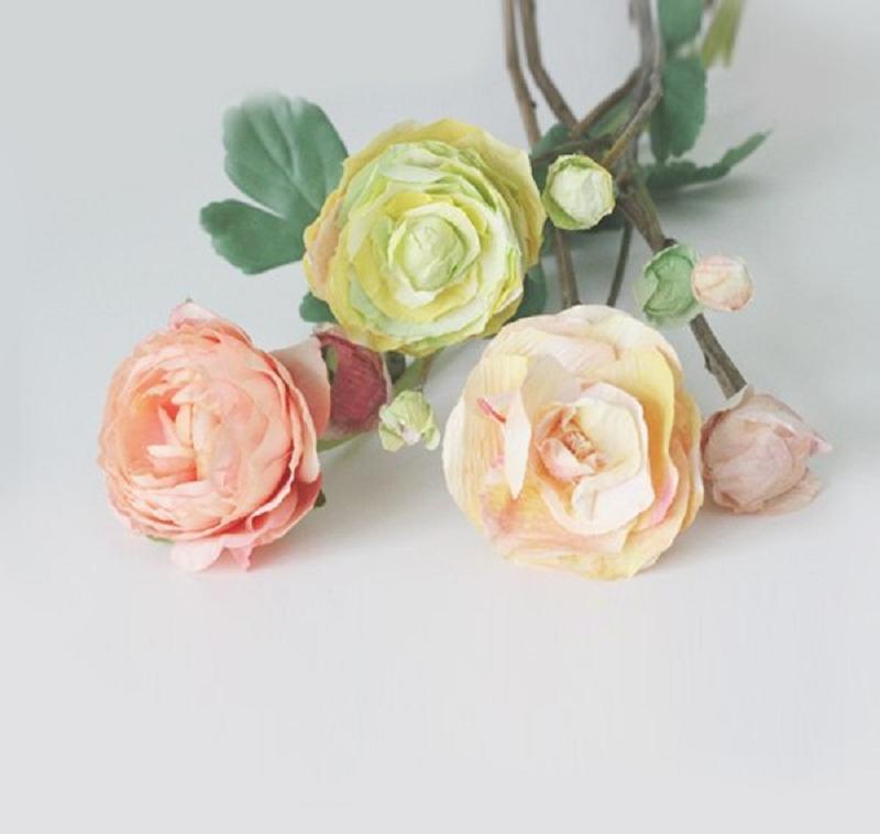 Diy ranunculus flower