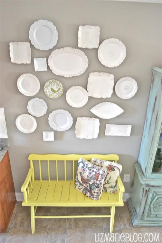 Monochromatic plate wall