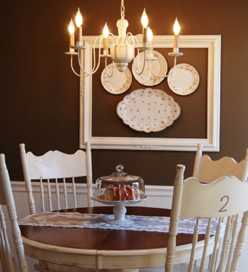 Plates accented with a frame