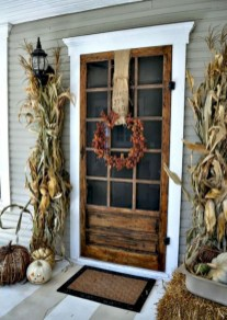 Awesome farmhouse fall decor porches 17