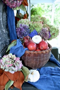 Awesome farmhouse fall decor porches 23
