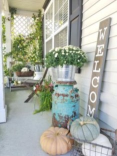 Awesome farmhouse fall decor porches 25