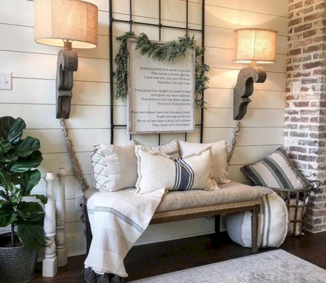 Awesome farmhouse fall decor porches 26