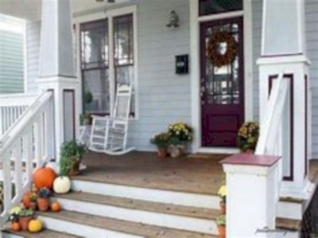 Awesome farmhouse fall decor porches 43