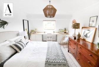 Best modern farmhouse bedroom decor ideas 10