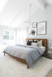Best modern farmhouse bedroom decor ideas 25