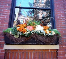 Cheap and easy fall window boxes ideas 41