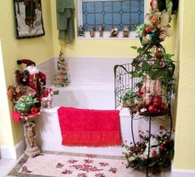 Cute farmhouse christmas decoration ideas 16
