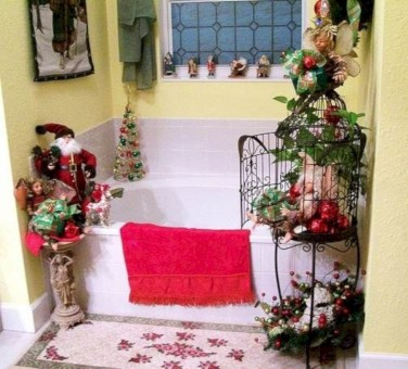 Cute farmhouse christmas decoration ideas 16