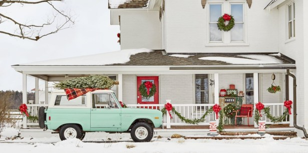 Cute farmhouse christmas decoration ideas 20