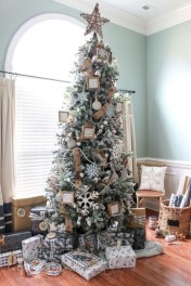 Cute farmhouse christmas decoration ideas 23