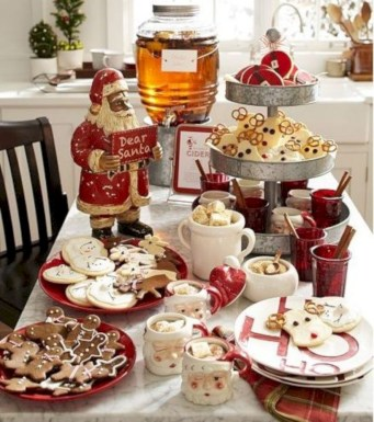 Cute farmhouse christmas decoration ideas 27